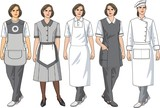Aprons for women