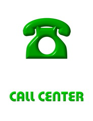 icone - bottona di call center
