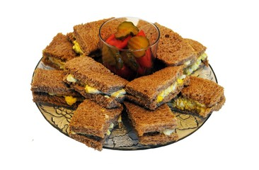 Egg Salad Sandwich Platter