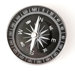 compass isolated on white