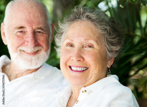Happy Senior Woman with Husband