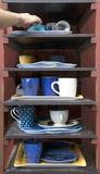 Cafeteria tray shelf poster