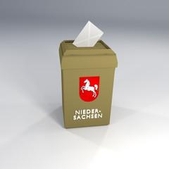 Wahl Wahlurne Niedersachsen