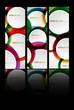 abstract modern website