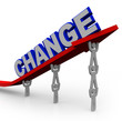 Team Lifts Word Change to Transform and Succeed