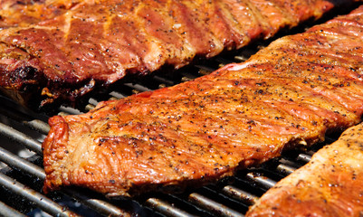 Barbecue BBQ Ribs