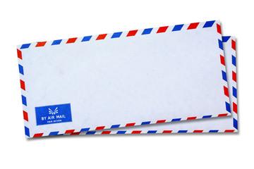 White Vintage Envelope