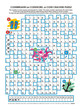 Codebreaker (codeword, code cracker) word puzzle, with answer