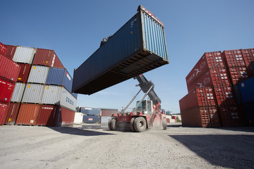 Container Verladung 2