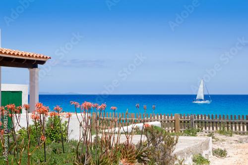 Formentera north escalo es calo aqua Mediterranean
