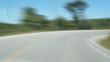 Rural Road. Timelapse shot.