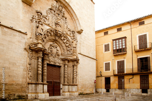 church of Montesion Monti Sion in Majorca at Palma