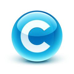 icône copyright / copyright icon