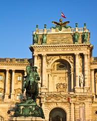 Hofburg Palace Facade