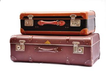 Zwei alte Koffer
