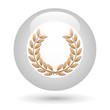 Icône lauriers de bronze