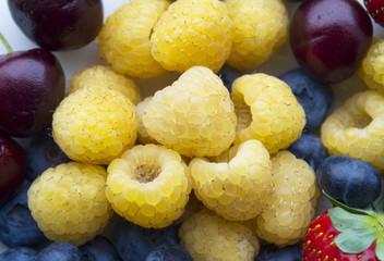 Golden Raspberries