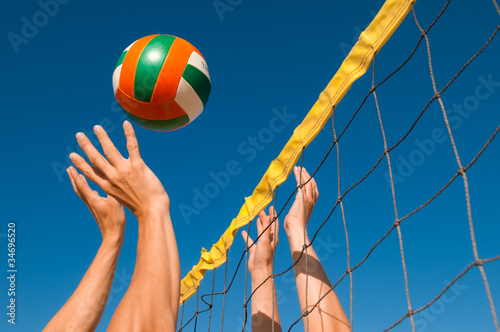 Poster Beachvolleyball