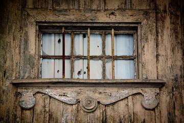 Altes Gebäude mit Fenster