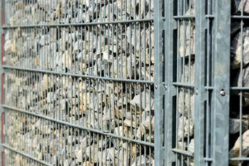 Zaun aus Steine