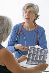 Consultation- examen de l' IRM
