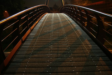 Bridge in the dark