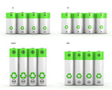 4 type of rechargeable batteries
