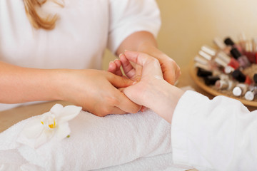 entspannende handmassage