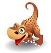 Dinosauro Cucciolo-Baby Dinosaur-2-Vector