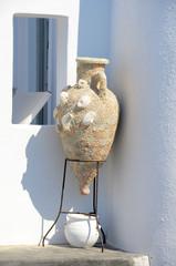 Vase in Santorin - Griechenland