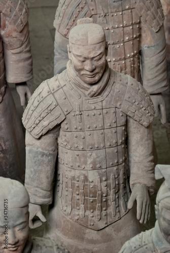Deurstickers Xian Armée de terre cuite, Chine 10
