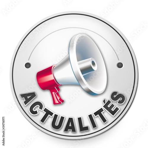 Badge ACTUALITES