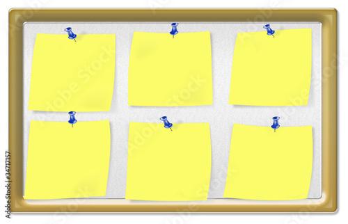 schwarzes brett von fotokalle lizenzfreies foto 34717157 auf. Black Bedroom Furniture Sets. Home Design Ideas
