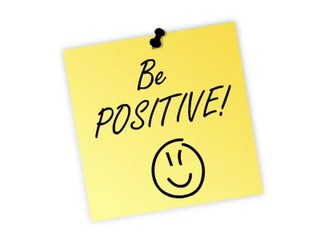 be positive post it