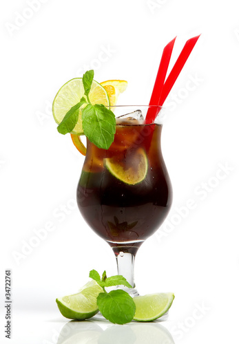 Cold alcohol drink