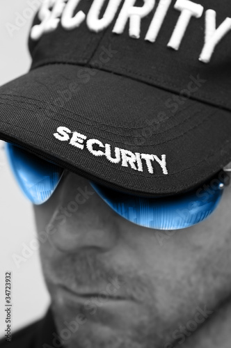 security man shades