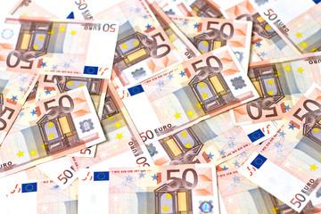 Billetes en la mesa