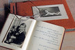 Alte Fotos - altes Fotoalbum - Poesiealbum