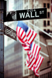 Fototapety Wall Street New York