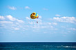 Parasailing in summer .
