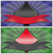 poker banner spades and diamonds