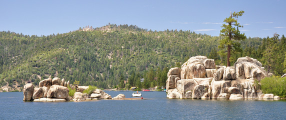 Big Bear Lake boulders