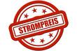 Sternen Stempel rot rel STROMPREIS