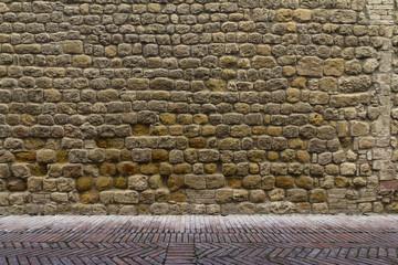 Parete e pavimento antico - texture