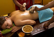 traditional indian ayurvedic oil  massage