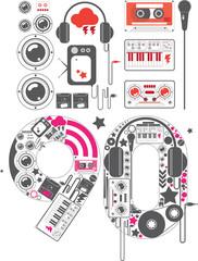 90's icon set