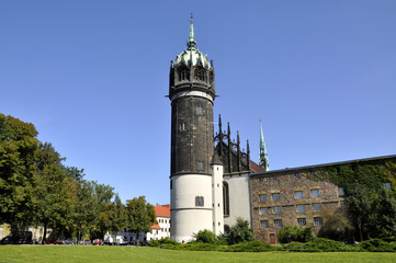 Wittenberg Schlosskirche Thesenanschlag Luther