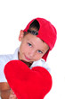 Kind mit Herz