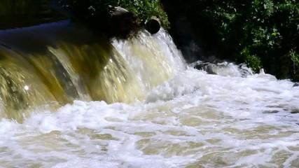 Warta River . Ważne Młyny