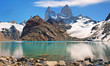 Laguna de los Tres with Mt. Fitz Roy in the background.